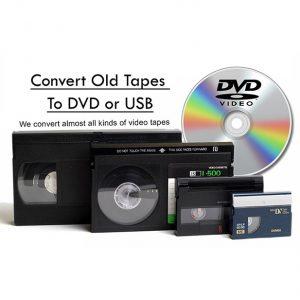 Tape/DVD Transfer