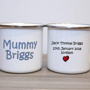 Personalised Enamel Mugs