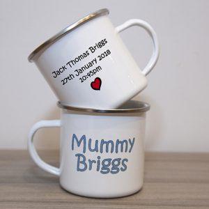 Mummy & Daddy Mug