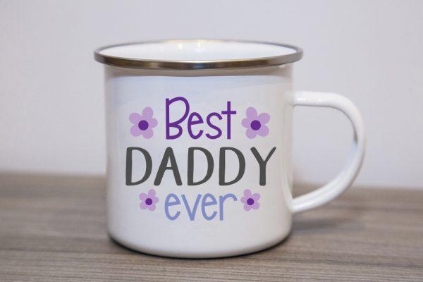 Best Daddy Ever Enamel Mug